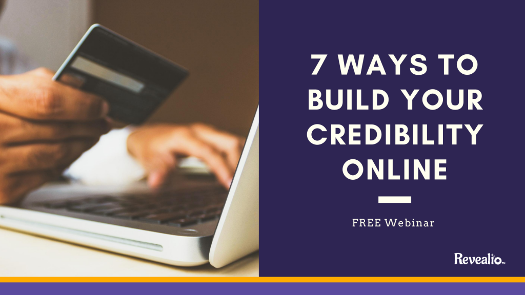 7 ways to build credibility graphic