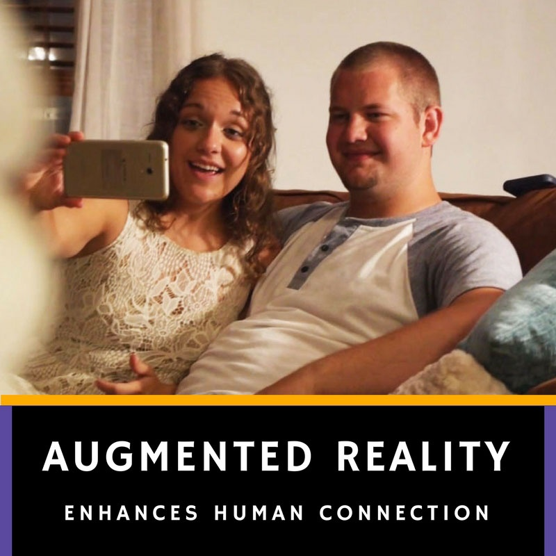 AR Enhances Human Connection