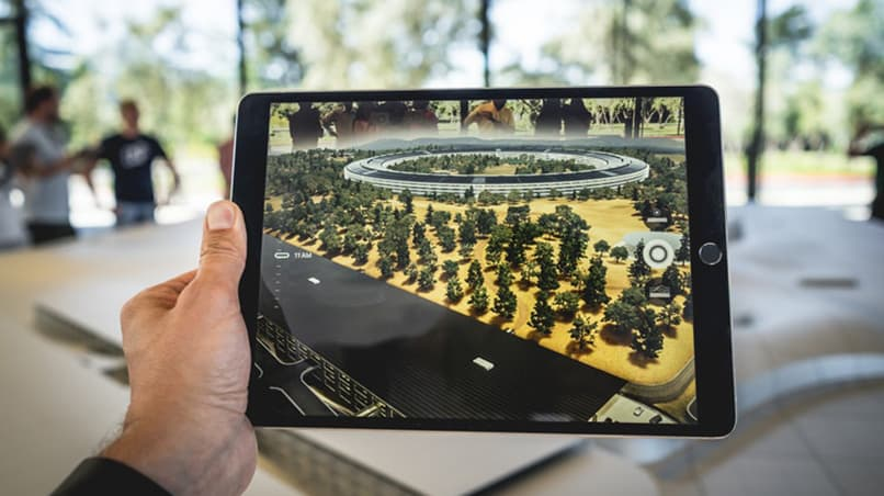 Augmented Reality 3D model on iPad