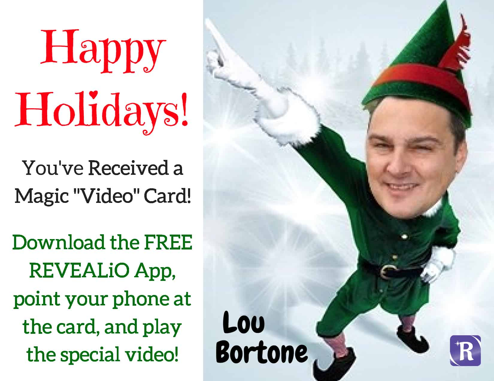 Lou Bortone-Holiday Card