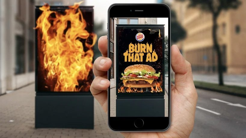 Burger King Augmented Reality Ad Campaign