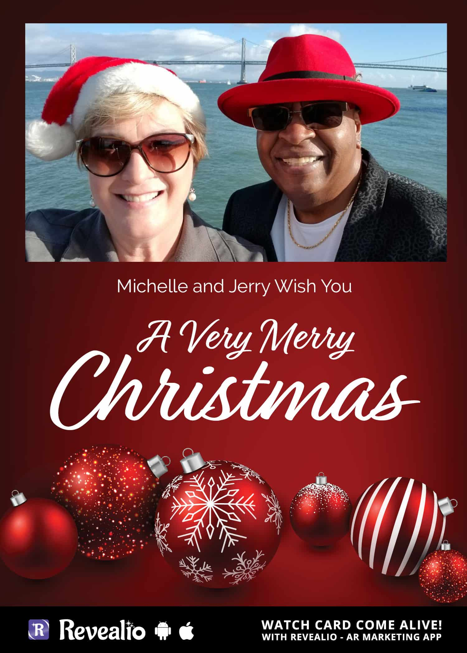 Christmas Card Comes Alive With Personalized Video Message