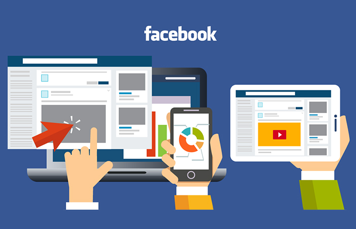 Picture of facebook advertising tools