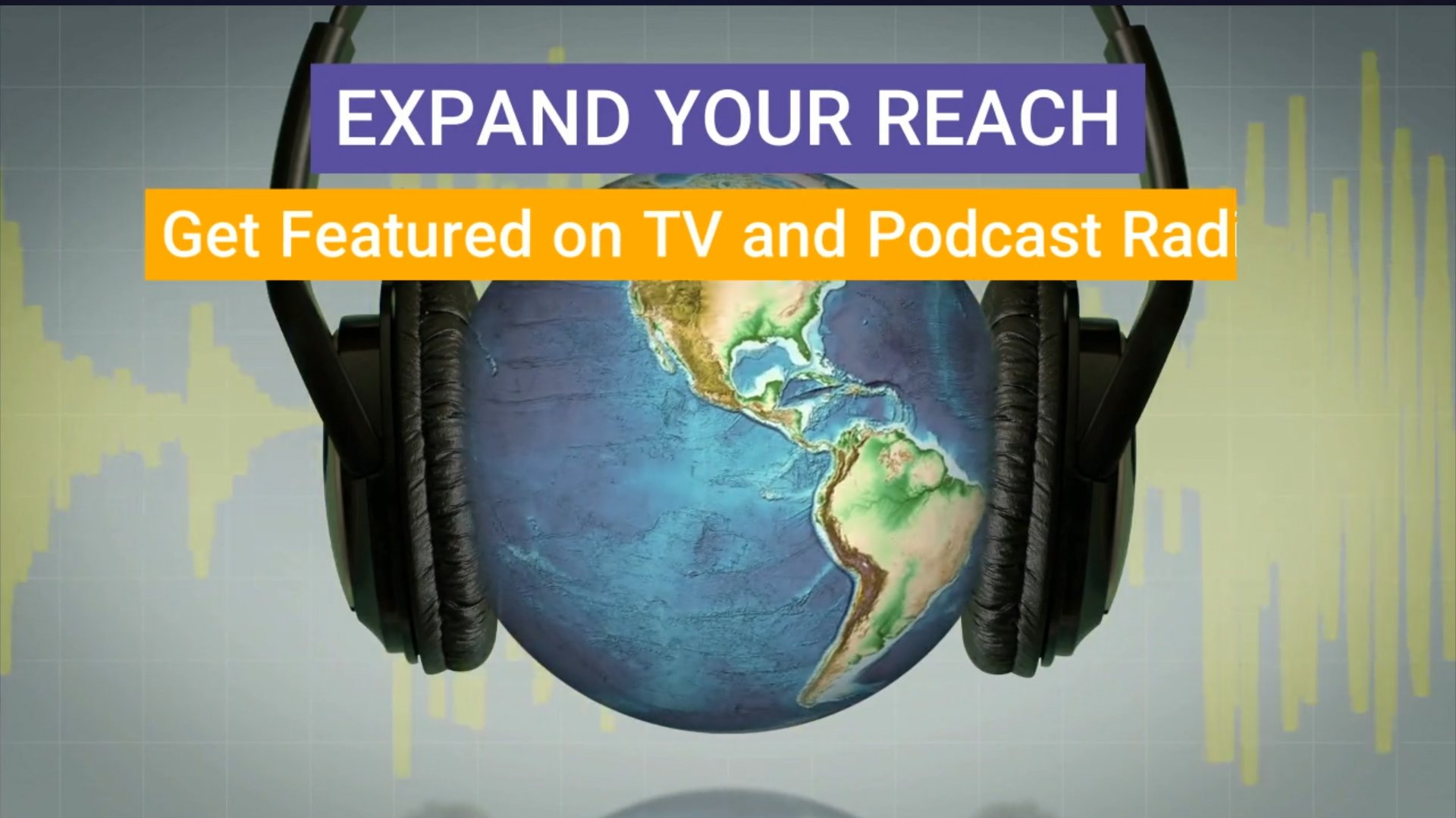Get Featured On TV and Radio