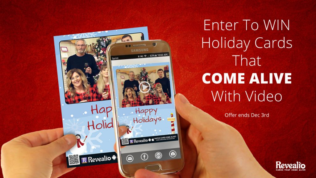 Enter to Win Holiday Cards That Come Alive