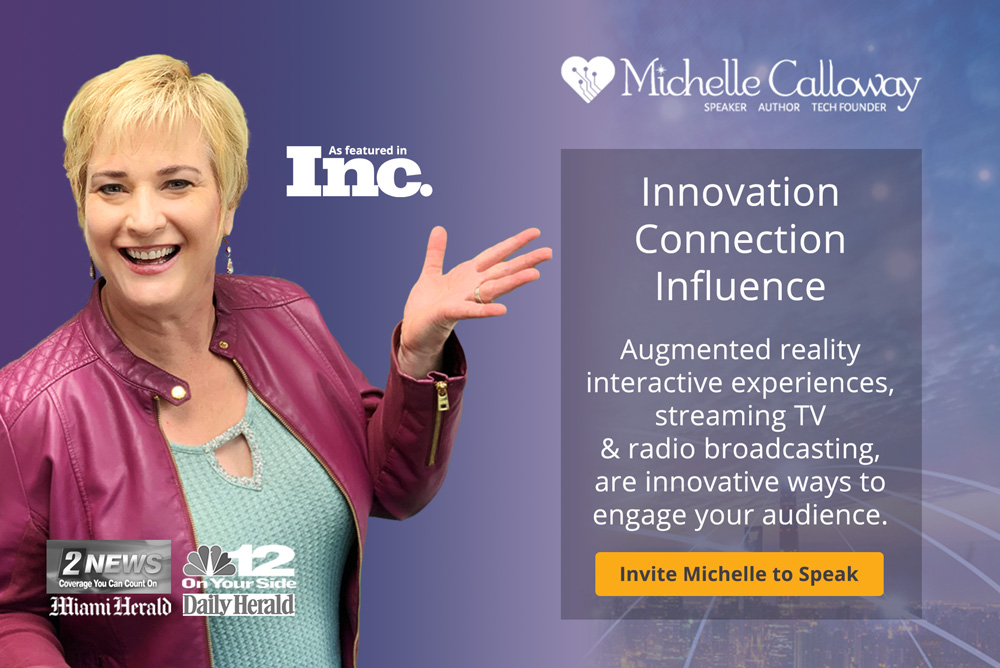 Hire Michelle Calloway to speak at your event.