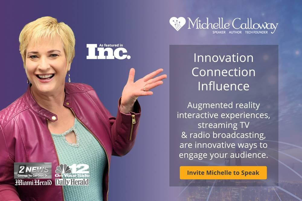 Invite Michelle to speak at your event