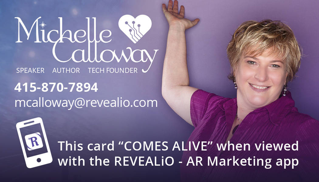Michelle Calloway Founder and CEO of revealio