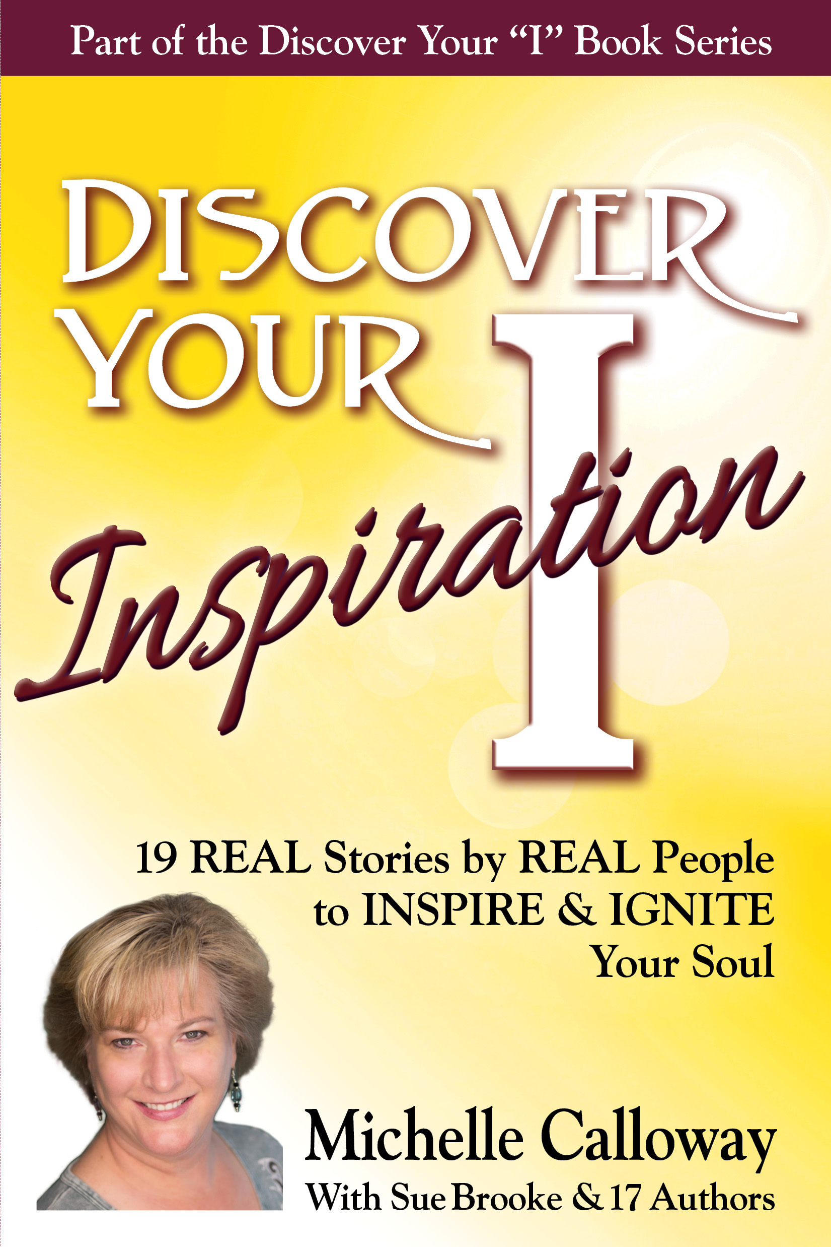 Michelle Calloway Front Cover of Discover Your Inspiration