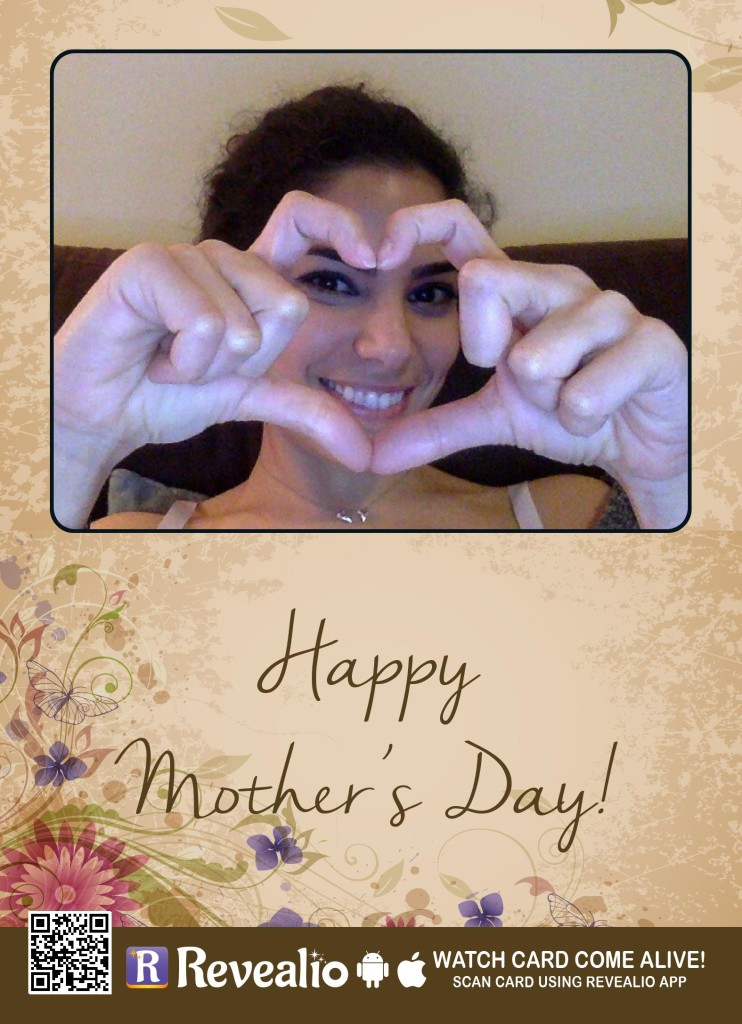 Revealio Mother's Day Card That Comes Alive!