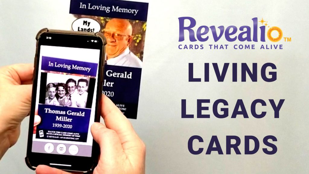 Picture of a REVEALiO-Living-Legacy-Card