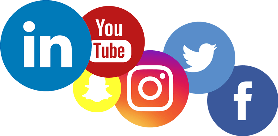 Social Media Grouped Icons