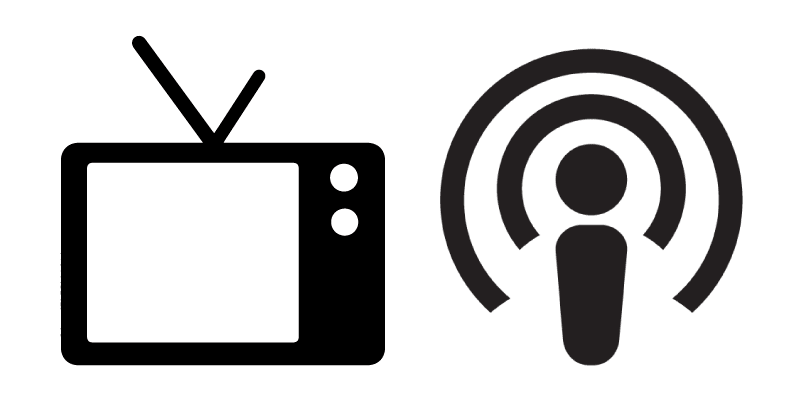 TV and Radio Icons