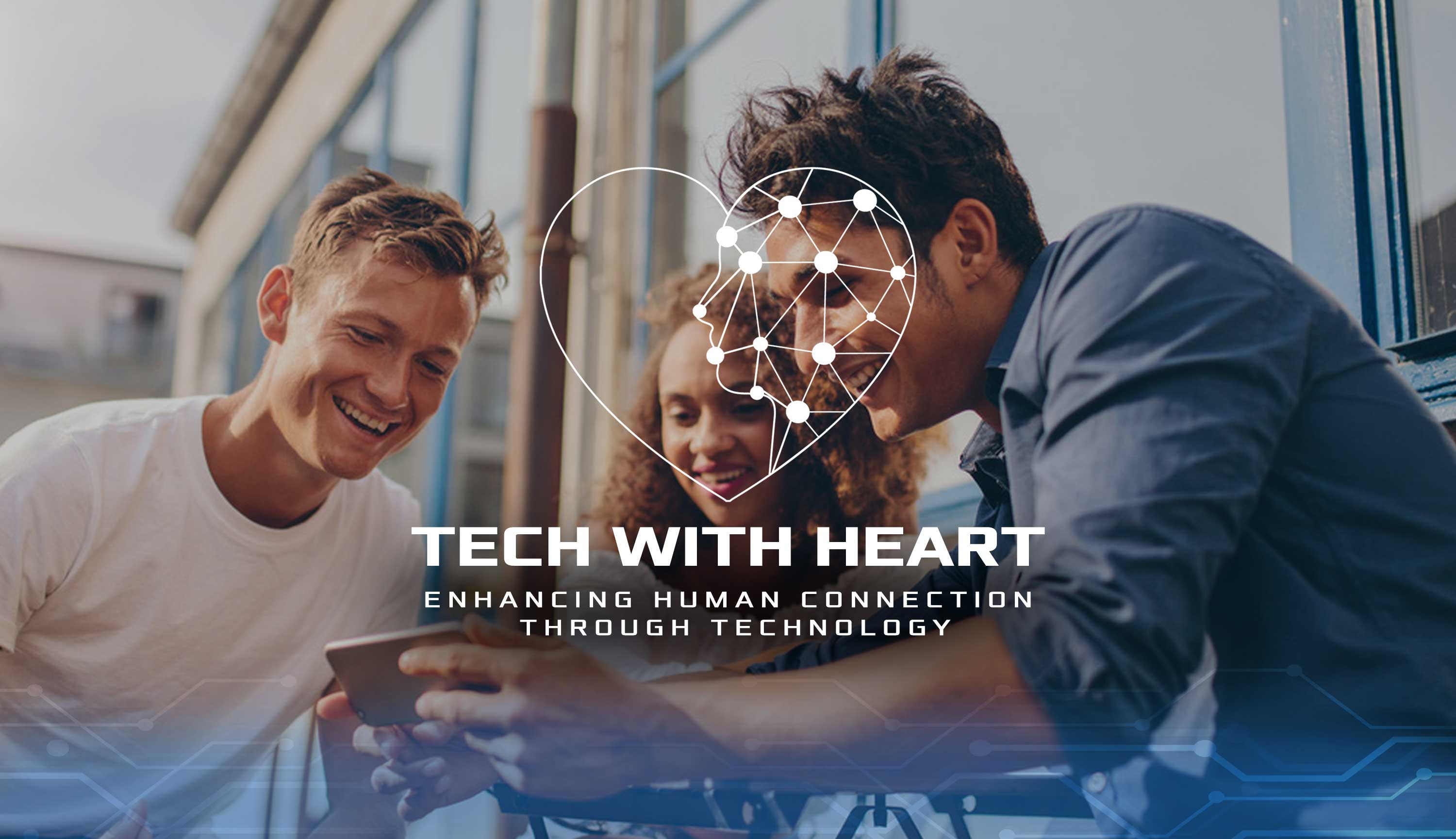 Tech With Heart Background
