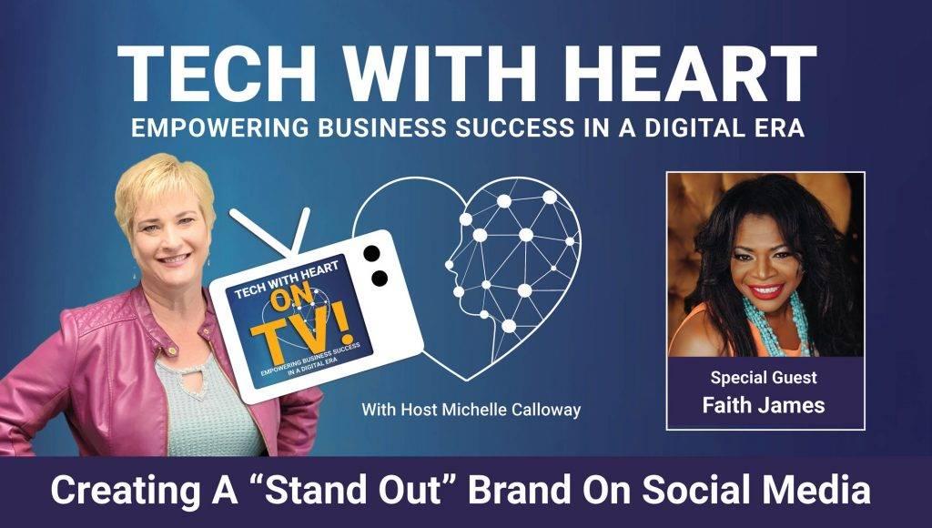 tech with heart with faith james